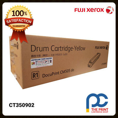 New Original Fuji Xerox CT350902 Yellow Drum Unit DP-CM505 CM505da CM505de (Original Yellow Drum Unit)