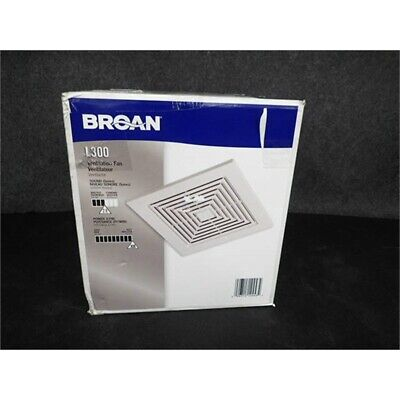 Broan Nutone L300 High Capacity Ventilator Exhaust Fan 2.9 Sones 120v 308 Cfm