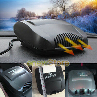 - Car Auto 150W 12 Volt DC Heater Fan Hot Windscreen Defroster Demister Fan Heater