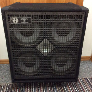 SWR 4-10 bass cabinet