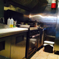Commercial kitchen roommate wanted!