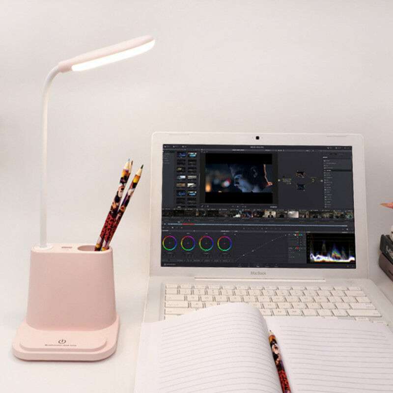 Led Night Light Eye Caring Table Lamp Desk Lamp With Usb