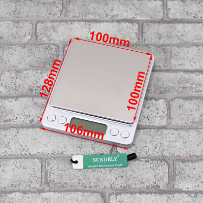 Fad0.1G-1000G Digital Kitchen Food Scale Electronic Balance Weight Postal Scales