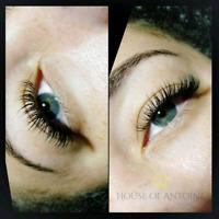 $70 ( Reg $85) eyelash extensions full set