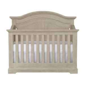 Centennial Chatham Curved Top Lifetime 4-in-1 Crib- Driftwood