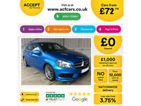 MERCEDES-BENZ A180 1.5 CDI SPORT AMG LINE A200 A220 1.8 2.1 SE FROM £72 PER WEEK