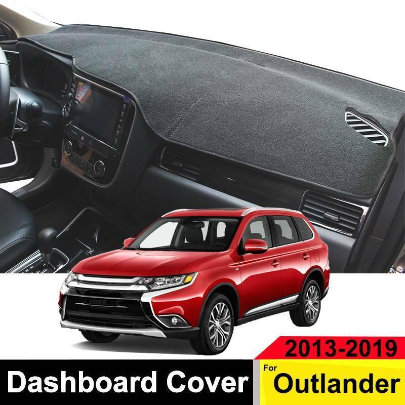 For OUTLANDER 2016 2017 2018 Black Dashboard Cover Dashmat Dash Mat Pad