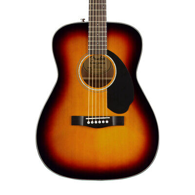 Fender CC-60S Concert Acoustic Guitar, 3-Colour Sunburst (NEW)