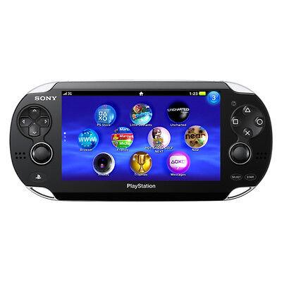 Sony PlayStation Vita - Crystal Black WiFi Handheld System