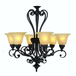 NEW Yosemite Home Decor Florence 6 Light Chandelier light