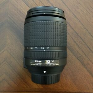 like new Nikon AF-S 18 140 ED VR zoom lens