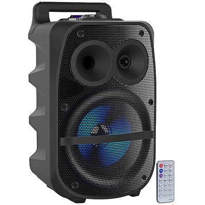 auvisio Mobile PA-Partyanlage, Bluetooth, MP3, USB, SD, Karaoke, UKW, 150 Watt Mobile Usb Bluetooth