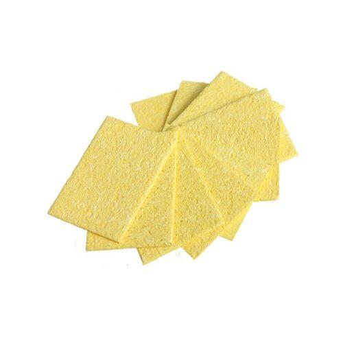 DANIU 10Pcs Welding Soldering Iron Tip Replacement Sponge Esponja Cleaning Pads