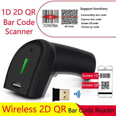Wireless 2d Barcode Reader Computer Mobile Payment Screen 1d Qr Bar Code Scanner