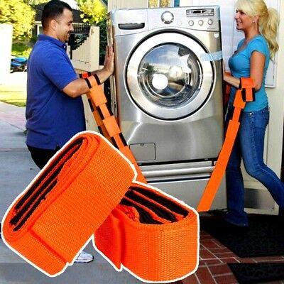 Lifting Moving Easy Carry Furniture For Belt Shoulder Straps 2pcs Transport Belt