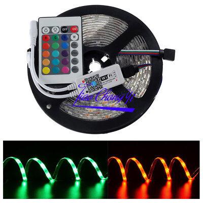 5050 300LED RGB Flexible Light LED Strip 12V IP65 with 24key WiFi...
