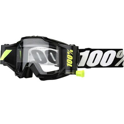 100% Accuri Forecast Clear Lens Offroad Motocross Goggles