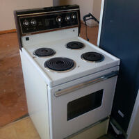 Apartment size stoves. Ranging from $150-$250.