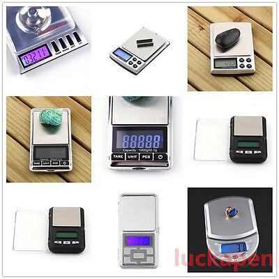 0.001g/20g Digital LCD Balance Weight Milligram Pocket Jewelry Diamond Scale NB
