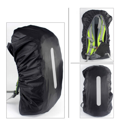 Reusable 100% Waterproof Backpack Rain Cover for Hiking Camp