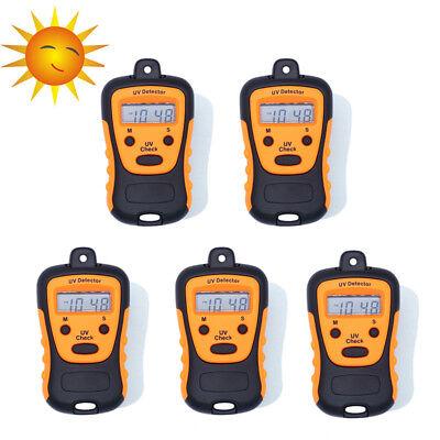 5x Uv Strength Tester Meter Photometer Detector Handheld Lcd Light 1000u Wcm2