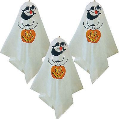 3 X Spooky Halloween Ghost Balloon Haunted House Party Hanging Decorations