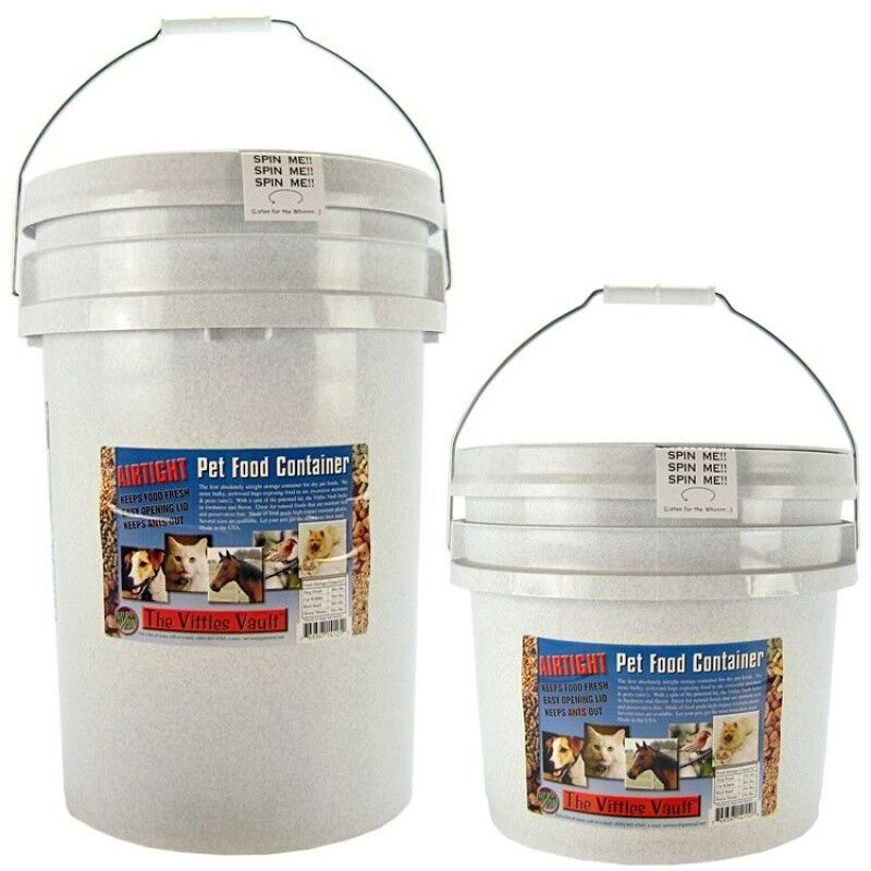 Gamma2 Vittles Vault Airtight Pet Food Containers in 10, 15, or 25 pound size