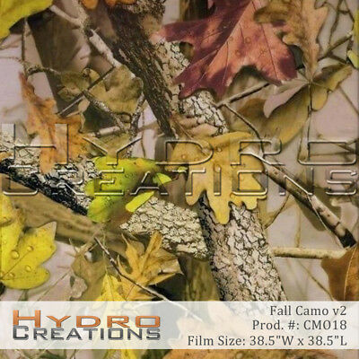 Hydrographic Film For Hydro Dipping Water Transfer Film Fall Camo V2