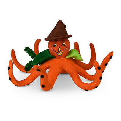 Annalee Dolls 2019 Halloween 7in Pumpkin Octopus Plush New with Tag](Annalee Dolls Halloween)