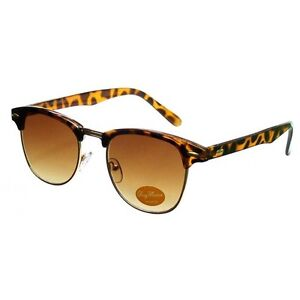 New Tortoise Wayfarer Clubmaster Men's Women's Sunglasses Retro Vintage 80's
