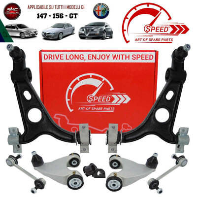 Querlenker Satz Reparatursatz vorne 8-teilig Alfa Romeo 147//156//GT