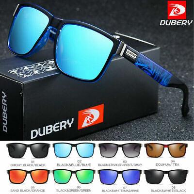DUBERY Herren Sonnenbrille Polarisiert brillen Sports Fahren Angeln Radfahren DE