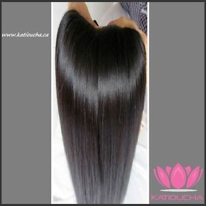 CLIP IN Hair extension 100%HUMAN REMY VIRGIN HAIR Yellowknife Northwest Territories image 2