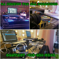 DJ SERVICE FOR ALL OCCASIONS