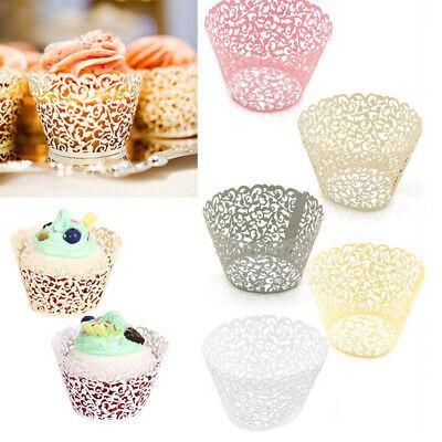 25x Muffinförmchen Papierförmchen Cupcakes Wrapper Kuchen Verpackung Party Dekor ()