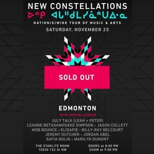 July talk tix performing in New Constellations