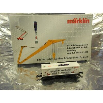 ** Marklin 2004 Nurnburg Toy Fair 2004  Digital Innovations Container Wagon Z