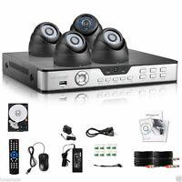 Camera Systeme de Surveillance Security DVR 960H HD 600TVL 750G