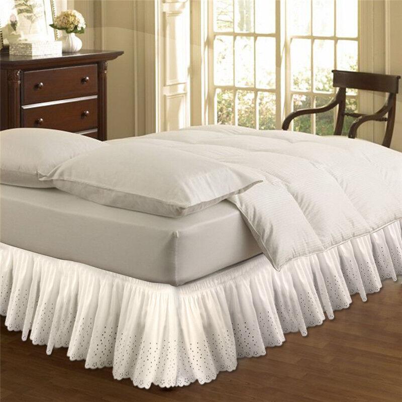 elastisch r sche bett rock easy fit rundum king queen gr e schlafzimmer r cke ebay. Black Bedroom Furniture Sets. Home Design Ideas