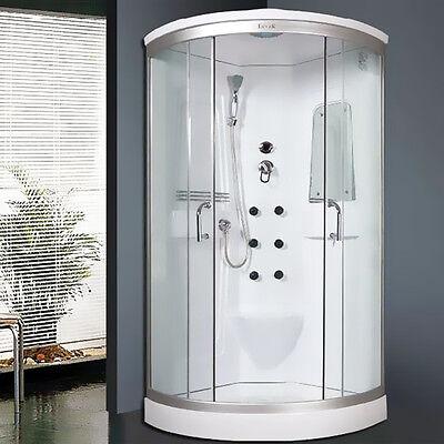 LORENE Duschkabine Komplettdusche Regendusche Spiegel Dusche 90x90 %%