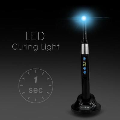Black Vakker Dental Led Curing Light 1 Second Cure Lamp 2000mwc