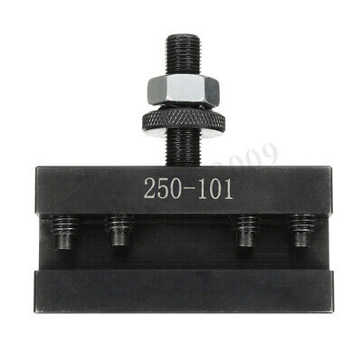 Up To 12 Quick Change Tool Post Turning Facing Lathe Tool Holder 250-101