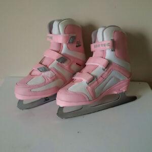 Girls Softec Skates - Size 3
