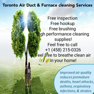 Duct and furnace cleaning Toronto