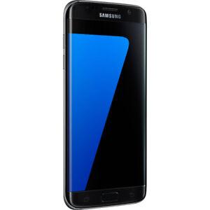 Unlocked Samsung Galaxy S7 32GB Edge Black Very Good Condition