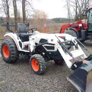 2011 Bobcat CT235 tractor with loader