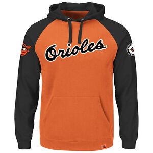 MLB Baseball Hoody Hoodie Kaputzenpullover BALTIMORE ORIOLES Cooperstown hooded
