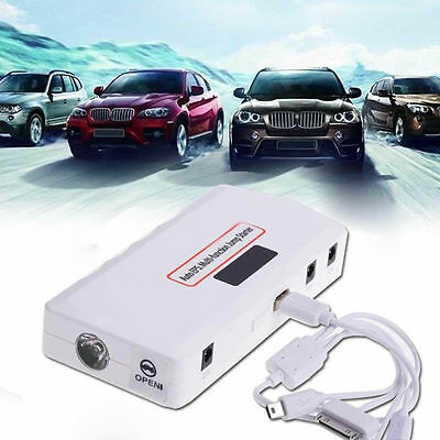 18000mAh Power Bank Booster  Battery Charger Car Jump Starter Auto Emergency BP