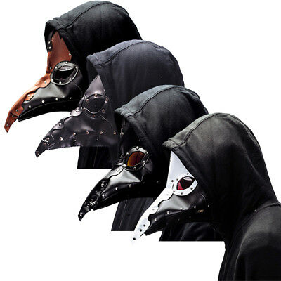 Halloween Plague Doctors Mask Long bird mouth mask Makeup dress Cosplay 26 style - 26 Halloween