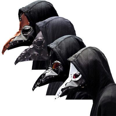 Halloween Plague Doctors Mask Long bird mouth mask Makeup dress Cosplay 26 style